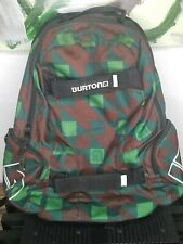 BURTON Snowboard Boarding Hiking Backpack Laptop Bag Camo Print