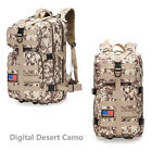 35L Outdoor Tactical Military Molle Backpack Rucksack Travel Camping Hiking Bag