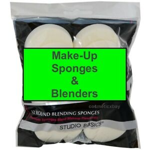 ROYALMakeup Sponges Pack Puffs Cosmetic Round Blenders Foundation Make-up Circle