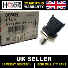BOSCH FUEL RAIL PRESSURE SENSOR RENAULT TRAFIC 1.9 DCI IVECO DAILY VAUXHALL
