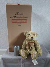 Steiff 1907 Hot Water Bottle Bear 2004 Limited Edition Replica 667299, DUST BAG