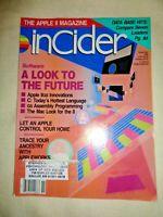InCider Computer Apple II Magazine Nov 1986 AppleWorks Assembly Programming IIgs