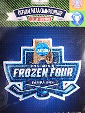 NCAA 2016 Hockey Frozen Four Patch N Dakota, Denver, Boston College, Quinnipiac