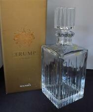 Trump Home (ROGASKA) Bleeker Crystal Decanter 25 oz with Stopper NIB Waterford