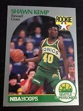 1990-91 Skybox SHAWN KEMP RC #279 card (NRMT+) ~ Seattle Sonics rookie ~ F1