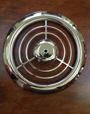"Vintage Emerson Pryne 12"" diameter Chrome Grille"