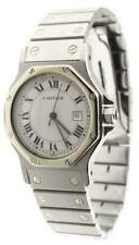 Cartier Santos Medium Automatik Herren Damen Uhr Stahl 30mm