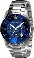 Emporio Armani Sport Steel Blue Dial Men's Watch AR5860