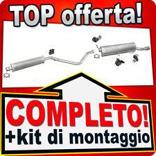 Scarico Completo PEUGEOT 307 CC 2.0 136CV Cabriolet 2003-2005 +Appendini 977