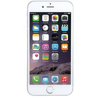 Apple iPhone 6 16GB GSM FACTORY UNLOCKED 4G LTE GSM Silver Smartphone