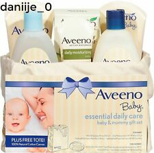 Aveeno Baby Essential Daily Care Baby & Mommy Gift Set 7 Item - New FreeShip
