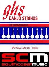 GHS 751295 Banjo 4 String Set 11-30 Phos Bronze Tenor Med Johnny Baier Strings