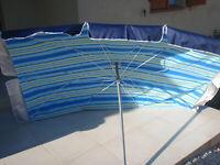 Parasol rectangulaire de terrasse neuf