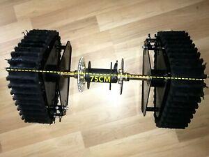 Brand New Mini tracks axle system for offroad ATV UTV Quad Buggy project