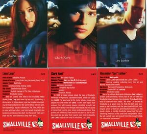 INKWORKS SMALLVILLE SEASON 1 CD PROMO SET OF (3) CARDS RARE