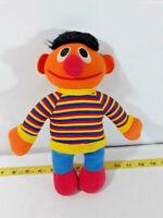 "Vintage Sesame Street ERNIE 11"" Playskool Soft Plush Doll Toy ~ Ships FREE"
