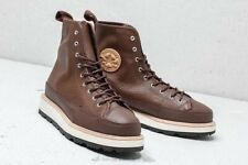 006bce711 Converse CT Crafted Boot HI Men's Size 10 Chocolate Leather Chuck Taylor