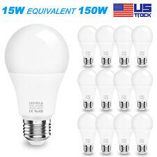 1 to 5PK E26 LED Light Bulb 50W 90W 150W Equivalent 6500K Daylight Energy Saving