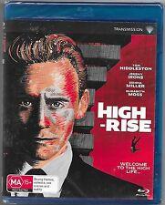 High-Rise Blu Ray New(Tom Hiddleston,Sienna Miller) Region B Free Post