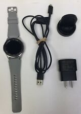 Samsung Galaxy Watch SM-R805U 46mm Silver Case Grey Strap Smart Watch