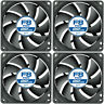 4 x Pack of Arctic Cooling F8 PWM PST CO 80mm Quiet Case Fan 2000 RPM, 4 Pin