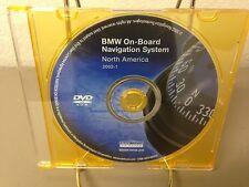 Genuine BMW On-Board Navigation System DVD Disc Version 2002-1 S0001-0070-210 US