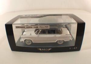 Neo Scale Models Borgward Hansa 2400 Pullman 1/43 Nuevo Caja