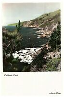 Vintage California Coast Postcard Posted  San Diego 1956 Cystic Fibrosis Cancel