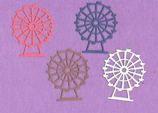FERRIS WHEEL # 2 carnival die cuts scrapbook cards