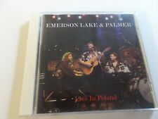 EMERSON LAKE AND PALMER,LIVE IN POLAND,CD ON METAL MIND,PROG CD 0060