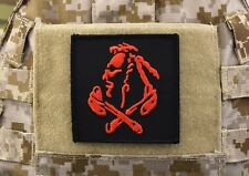 Nswdg Red Squadron Patch The Tribe Devgru St6 Red Team - Black