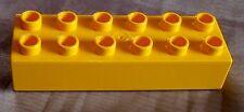 1 LEGO DUPLO pietre 12er elementi costitutivi GIALLO 2x6 da 5795 2605 9149 10514 9189 3294