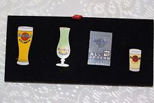 Hard Rock Cafe Lot Of 4 ATLANTA Pins Beer Glass All Access