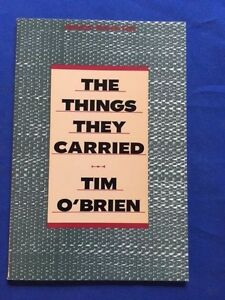 THE THINGS THEY CARRIED: ADVANCE PROMOTIONAL CHAPTERS - SIGNED BY TIM O'BRIEN
