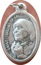 Saint St. (Mother) Teresa of Calcutta Medal + Care-Giver saw Jesus in everyone