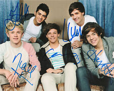 One Direction Signed autographed 8 X10 photo + COA