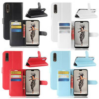 Wallet Leather Case Flip Stand Protective Phone Case Cover For Huawei P20