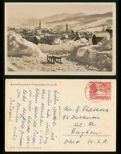 Mayfairstamps Switzerland 1953 Kurort Degersheim Toggenburg to US Real Photo Pos