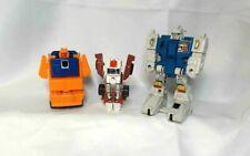 1984 1986 G1 Vintage Transformers Lot: Twin Twist, Wideload, Swerve SADJ13