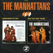 The Manhattans - Dedicated to You / for You & Yours [New CD] UK - Import