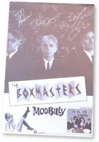 The Boxmasters Signed Autographed 13X19 Poster Billy Bob Thornton JSA GG68076