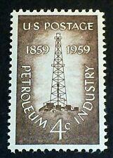 U.S. Scott 1134- Petroleum Industry, Oil Derrick- MNH OG F-VF 4c 1959