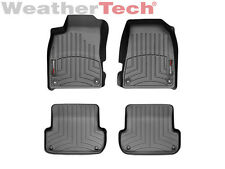 WeatherTech Floor Mats FloorLiner for Audi A4/S4/RS4 - 1st & 2nd Row - Black