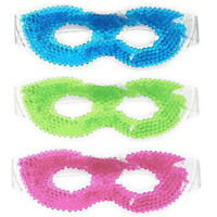 1 Gel Eye Mask Hot Cold Ice Relieves Eye Stress & Reduces Puffiness - Assorted