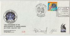 Stamp centenary 1999 Wagga Wagga anniversary souvenir cover & postmark signed