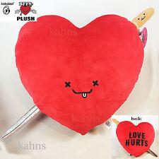 "kidrobot BFFs Large Plush Heart & Sword - Love Hurts - Jimmy - Travis Cain - 19"""