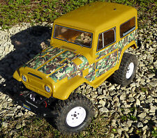 RC Rock Crawler GREEN CAMOUFLAGE Stickers Decals fit FTX RGT HSP OUTBACK TUNDRA