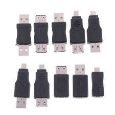 10x different types OTG USB male to female micro USB adaptador mini converters bien