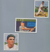Cincinnati Reds 1950 & 1952 Complete Bowman Reprint Team Sets