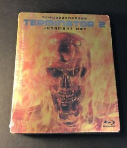 Terminator 2 Judgment Day [ Limited Edition STEELBOOK ] (Blu-ray Disc) NEW